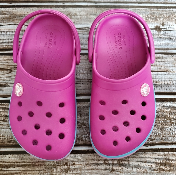 CROCS Shoes   Pink Girls Size 11   Poshmark